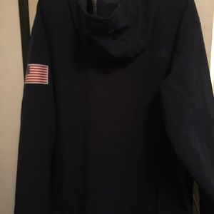 The North Face Men's L Blue Hoodie